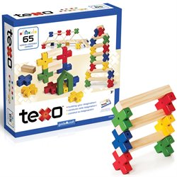 Guidecraft Texo 65 Piece Set