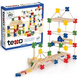Guidecraft Texo 210 Piece Set