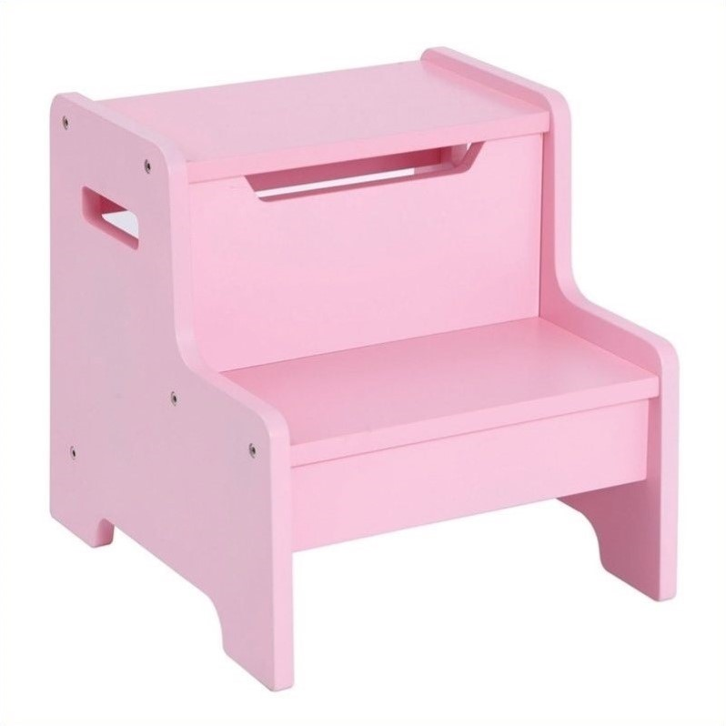 Expressions Step Stool in Pink