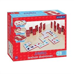Guidecraft Jumbo Texture Dominoes