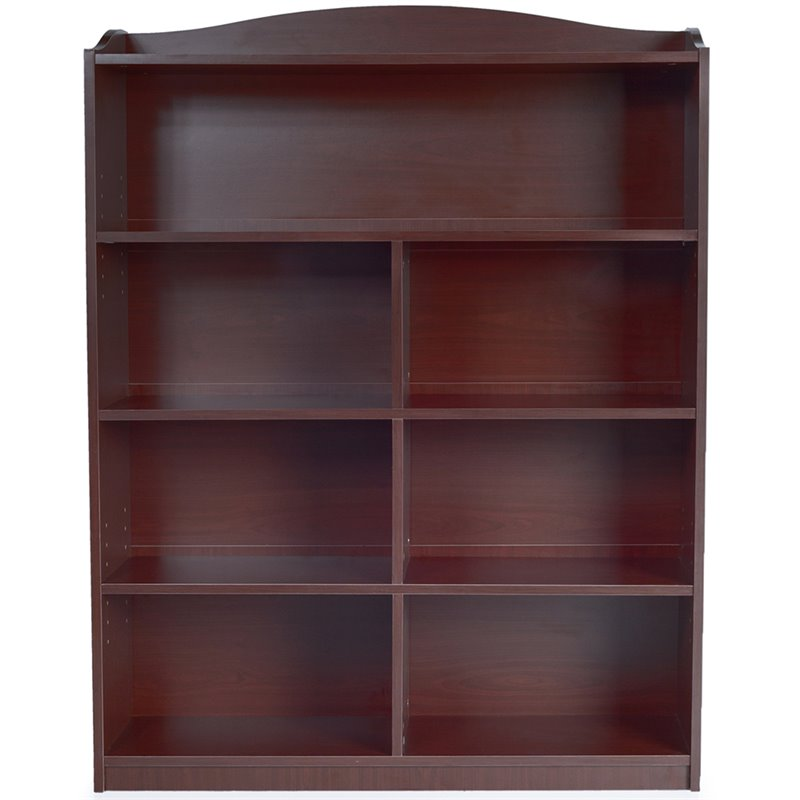 Guidecraft 5 Shelf Bookshelf in Cherry