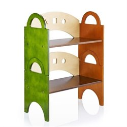 Guidecraft Stacking Bookshelf in Multi-Color