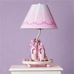 Guidecraft Ballet Bouquet Lamp in Pink and White