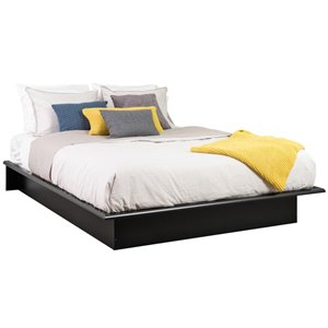 Black Full Platform Bed