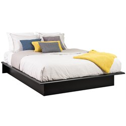 Prepac Sonoma Black Queen Platform Bed