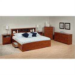 5-Piece King Bedroom Set in Cherry