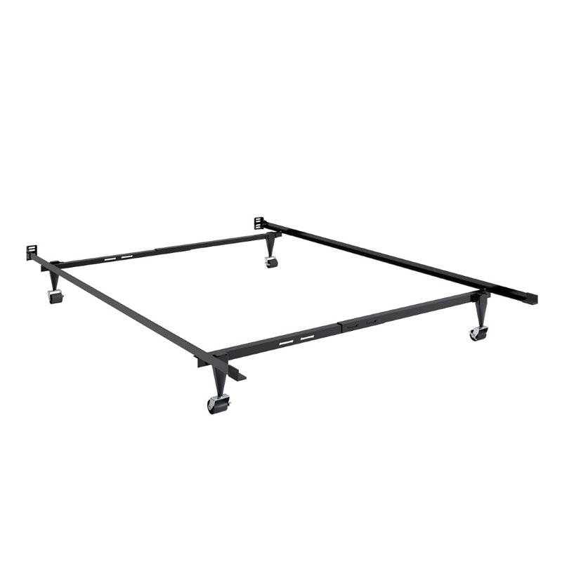 Adjustable full twin metal bed frame bal 101 f Full bed frames