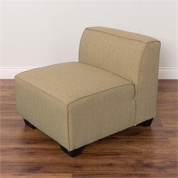Armless Chair in Beige