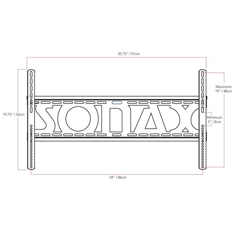 Sonax by CorLiving TV Wall Mount for 32