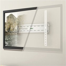 Corliving Tilting Flat Panel Wall Mount in White