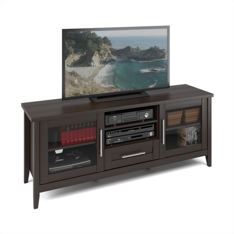 CorLiving Jackson TV Bench in Espresso Finish