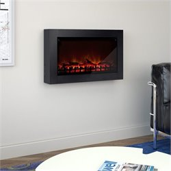 Sonax Wall Mounted Electric Fireplace