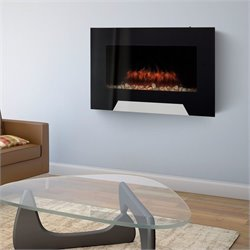Corliving Wall Mounted Electric Fireplace
