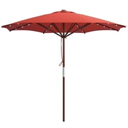 Patio Umbrella in Red