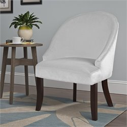 Accent Chair in White