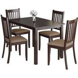 5 Piece Dining Set in Beige