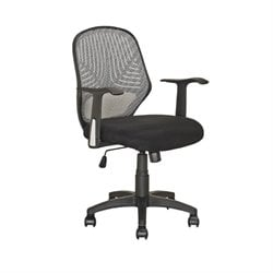 CorLiving Workspace Swivel Office Chair in Black