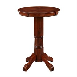 Boraam Florence Pub Table in LT. Dark Cherry