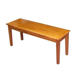 Boraam Shaker Wood Dining Bench in Oak