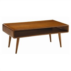 Boraam Halmstad Coffee Table in Rich Walnut