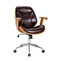 Boraam Rigdom Office Chair in Brown