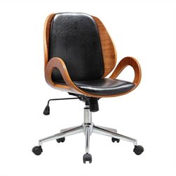 Boraam Mira Desk Office Chair in Black