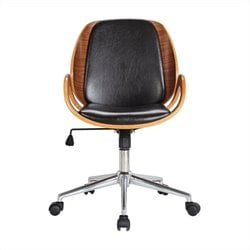 Boraam Rika Desk Chair in Brown