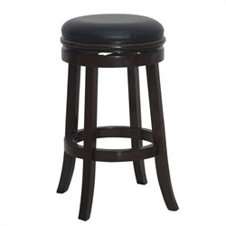 Boraam Backless Swivel Bar Stool in Cappuccino