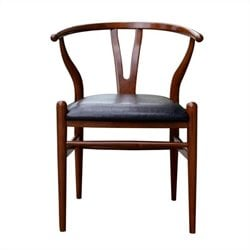 Boraam Wishbone Dining Chair in Cherry Finish