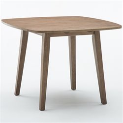 Boraam Boulder Dining Table in  Driftwood Gray Wire-brush