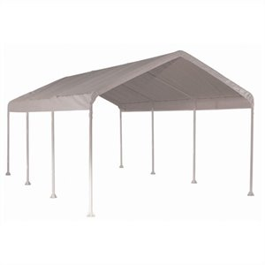 ShelterLogic Max AP 10'x20' 4-rib Canopy with Cover in White