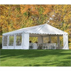 20'x20' Party Tent with Enclosure Kit