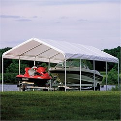 ShelterLogic 18'x30' Super Max Premium Canopy in White