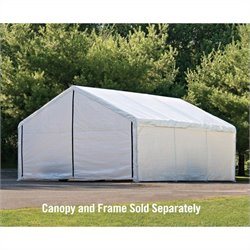 ShelterLogic 18'x20' Super Max Canopy Enclosure Kit in White