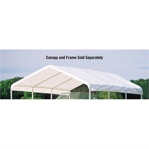 ShelterLogic Canopy Replacement Cover in White