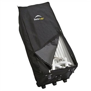 ShelterLogic Store-IT Canopy Rolling Storage Bag in Black
