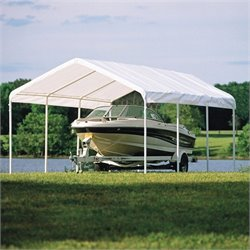 ShelterLogic 12'x20' Super Max Premium Canopy in White
