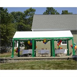 ShelterLogic 10'x20' Party Tent in Green and White