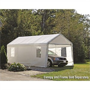 ShelterLogic 10'x20' Max AP Enclosure Kit with Windows in White