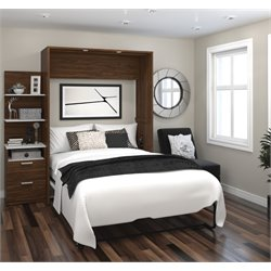Bestar Cielo Elite Wall Bed Kit in Oak Barrel