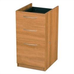 Bestar Embassy Lateral Filing Cabinet in Cappuccino Cherry - Ready To Assemble
