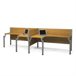 Bestar Pro-Biz Double Side by Side L-Desk