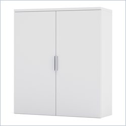 Bestar Pro-Linea Cabinet for Lateral File in White