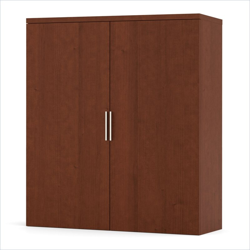 Pro-Linea Cabinet for Lateral File in Cognac