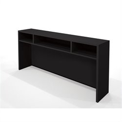 Bestar Pro-Concept Short Hutch in Black