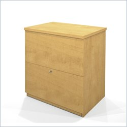 Bestar 2 Drawer Lateral Wood File Storage Cabinet in Secret Maple