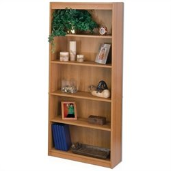 Bestar 5-Shelf Bookcase in Cappuccino Cherry