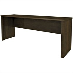 Bestar Prestige + Credenza Shell in Chocolate