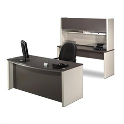 Bestar Connexion Wood Computer Desk Office Set with Filing