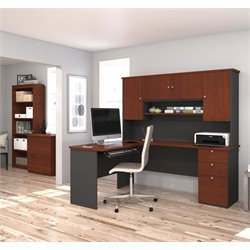 3 Piece L Shape Office Set